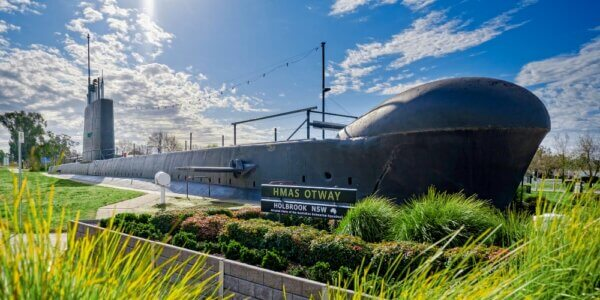 HMAS Otway, Holbrook Greater Hume (Photo credit Simon Dallinger)