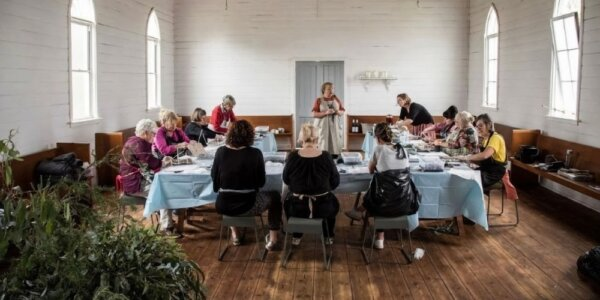 Forage Merchant and Occasion flower workshop