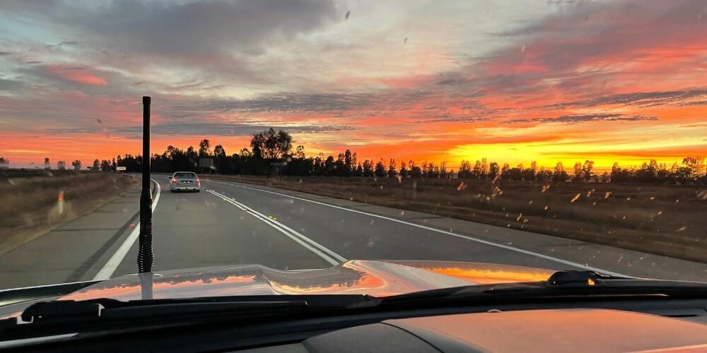 Sunrise Bland Shire