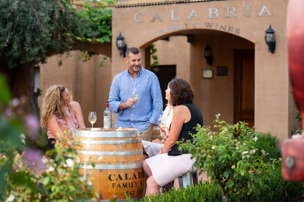 Wine Tastings with friends at Calabria Family Wines, Griffith - Photo credit - Destination NSW