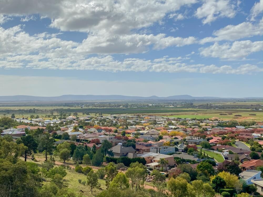 View from Scenic Hill, Griffith - Photo by Karly Sivewright